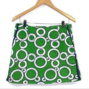 Golftini Circles Skort Skirt 8